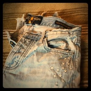 Lucky Brand faded jeans